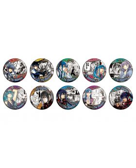 D.Gray Man Katsura Hoshino World Art Exhibition Goods Yu Kanda Can Badge BLIND PACKS