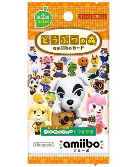 Animal Crossing Official Amiibo Cards Volume 2 BLIND PACK SET SECOND RESERVATION