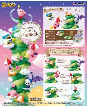 Kirby Tree In Dreams Stacking Figurine RE-MENT SET