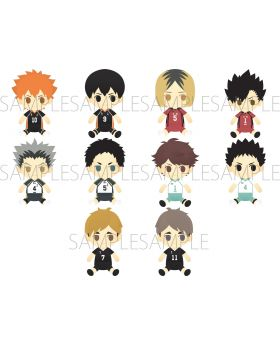 Haikyuu!! To The Top You and Friends Movic Plush