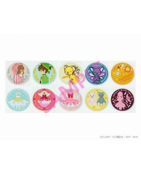 Cardcaptor Sakura Ready For Lady Marui Department Store Collaboration Embroidery Can Badge BLIND PACKS