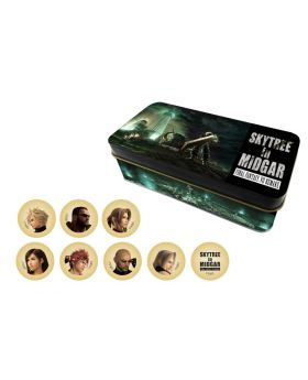 Final Fantasy VII Remake Tokyo Skytree Goods Cookie Can