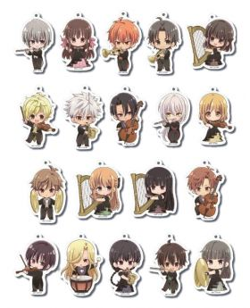 Fruits Basket Princess Cafe Formal Outfit Goods Acrylic Keychain BLIND PACKS