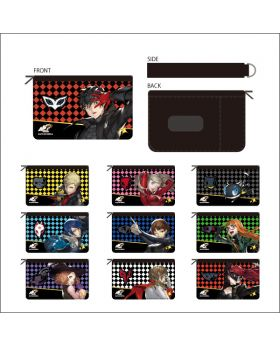 Persona 5 Scramble Marui Shop Coin and Pass Case Pouch