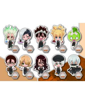 Dr. STONE x Princess Cafe Acrylic Stand BLIND PACKS