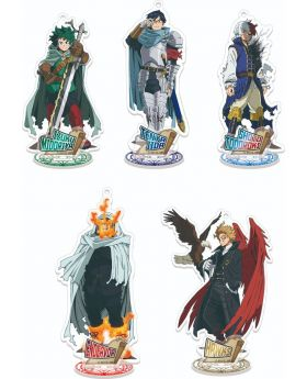 Boku No Hero Academia Jump Festa 2021 Toho Animation Fantasy Goods Acrylic Stands SECOND RESERVATION