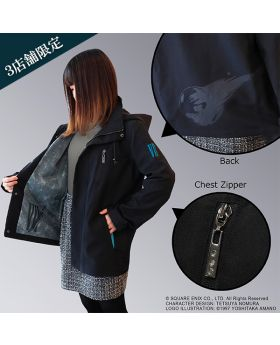 Final Fantasy VII Remake Square Enix Cafe Goods Parka Jacket Meteor