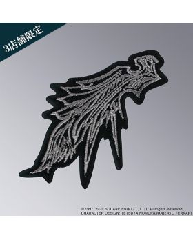 Final Fantasy VII Remake Square Enix Cafe Goods Fabric Patch One Winged Angel