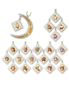 Final Fantasy Crystal Chronicles Remastered Square Enix Cafe Goods Moon Acrylic Keychain BLIND PACKS
