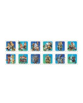 Final Fantasy Crystal Chronicles Remastered Square Enix Cafe Goods Coaster BLIND PACKS