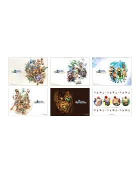 Final Fantasy Crystal Chronicles Remastered Square Enix Cafe Goods Placemat BLIND PACKS