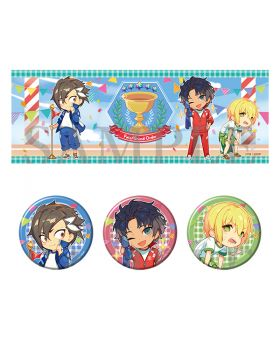 Fate/Grand Order Aniplex+ KyoMafu 2020 Goods Chaldea Sports Festival Towel and Can Badge Set Mandricardo Jason Bartholomew