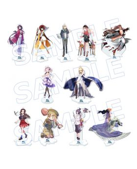 Fate/Grand Order Under The Same Sky Event Aniplex+ Goods Acrylic Stand Kanto Koshinetsu