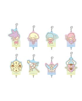 PROMARE x The Chara Shop Sanrio Little Twin Stars Goods Acrylic Link Keychains BLIND PACKS