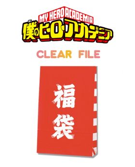 Fukubukuro Lucky Bag Boku No Hero Academia Clear File Bag