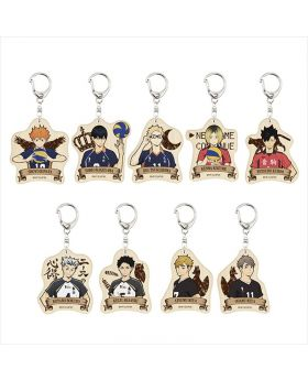 Haikyuu!! To The Top Avengers Wooden Keychain