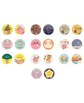 Kirby Cafe Tokyo Cut Stickers Kirby Can Badge Vol. 2 Collection BLIND PACKS