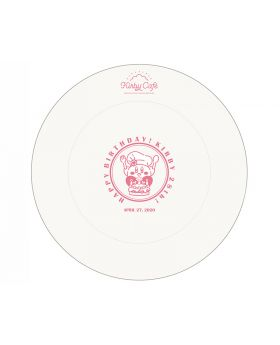 Kirby Cafe Tokyo Kirby 28th Birthday Plate