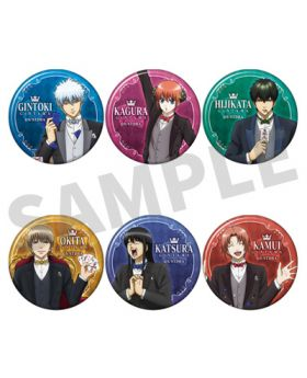 Gintama Jump Festa 2020 Movic Can Badge BLIND PACKS