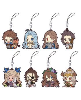 Granblue Fantasy The Animation Season 2 Movic Rubber Strap Collection ViVimus Type A BLIND PACKS