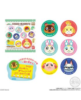 Animal Crossing New Horizons Character Magnet SET