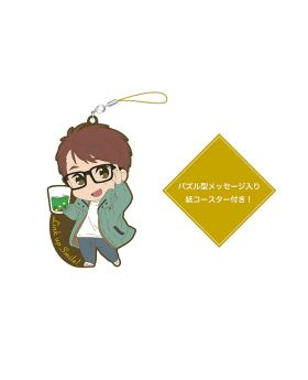 Free! Birthday Series Link Up Smile! Goods Rubber Strap and Coaster Set Hiyori