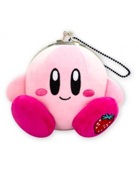 Kirby Very Strawberry Themed Goods Coin Purse Plush Red Strawberry
