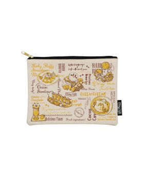 Kirby Cafe Menu Collection Goods Flat Pouch