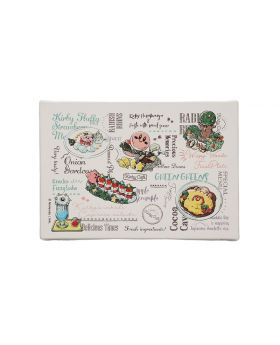 Kirby Cafe Menu Collection Goods Art Board