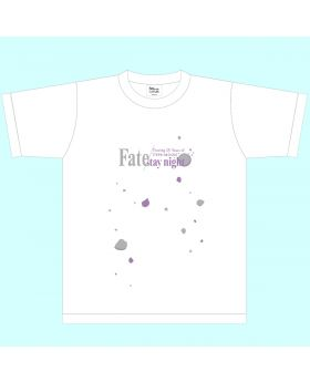 Fate/Stay Night TYPE-MOON Goods Exhibition T-Shirt Heaven's Feel (Silver Purple)
