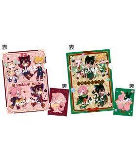 Toilet Bound Hanako-kun Square Enix Goods Cat and Mouse Clear File Set