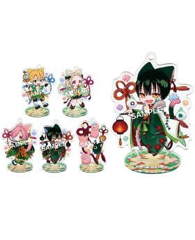 Toilet Bound Hanako-kun Square Enix Goods Cat and Mouse Acrylic Keychain Stand BLIND PACKS