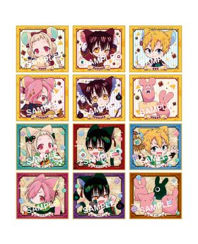 Toilet Bound Hanako-kun Square Enix Goods Cat and Mouse Mini Illustration Board BLIND PACKS
