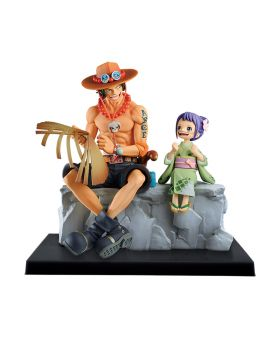 Ichiban Kuji ONE PIECE Wano Country Second Act INDIVIDUALS RARE PRIZE Ace and Otama Figurine