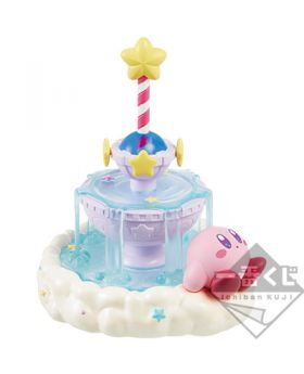 Ichiban Kuji Kirby Cloudy Candy Dreamy Fountain Pen Figurine Stand INDIVIDUALS
