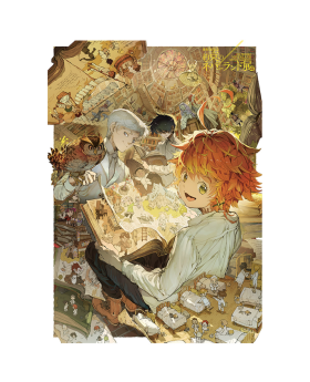 The Promised Neverland Exhibition Goods B2 Poster Key Visual