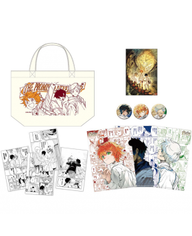 The Promised Neverland Exhibition Goods Trio Set Emma Ray and Norman