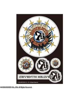 Final Fantasy VII Artnia Cafe Collection Stickers Seventh Heaven