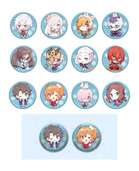Fate/Grand Order Fes 2019 - 2020 Chaldea Park Goods Can Badge BLIND PACKS