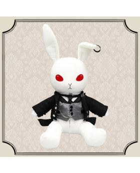 Kuroshitsuji Black Label Bitter Rabbit Plush Sebastian Michaelis Basic Ver.