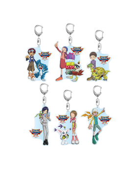 Digimon Adventure Limited Base Goods Acrylic Keychain Vol. 2