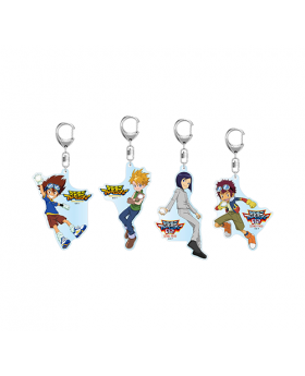 Digimon Adventure Limited Base Goods Acrylic Keychain Visual Design
