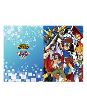Digimon Adventure Limited Base Goods Clear File Key Visual Design