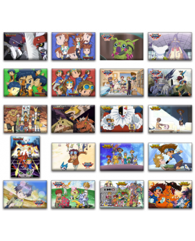 Digimon Adventure Limited Base Goods Memories Magnets Vol. 2 BLIND PACKS