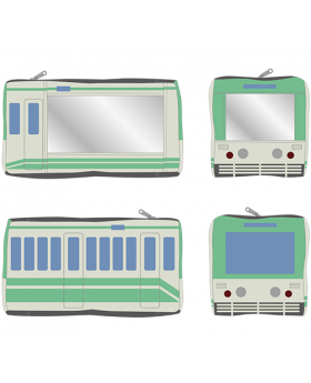 Digimon Adventure Limited Base Goods Train Pouch