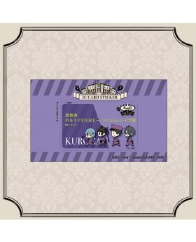 Kuroshitsuji Black Label IC Card Sticker Phantom Hotel Ver.