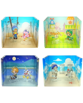 Digimon Adventure Limited Base Goods Acrylic Diorama Vol. 2