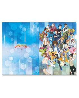 Digimon Adventure Limited Base Goods Clear File