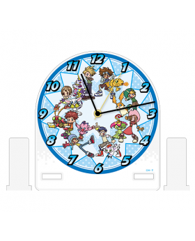 Digimon Adventure Limited Base Goods Acrylic Clock
