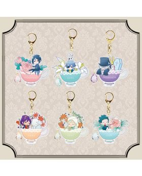 Kuroshitsuji Black Label Tea Cup Acrylic Keychain BLIND PACKS
